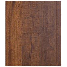 "5"" Engineered African Magnolia Hardwood Flooring in Latte (Set of 10)"