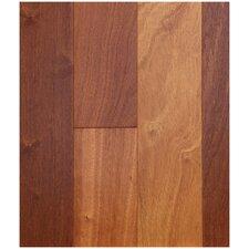 "5"" Engineered African Sapele Hardwood Flooring in Whiskey (Set of 10)"