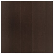 """4-3/4"""" Solid Strand Woven Bamboo Hardwood Flooring in Espresso (Set of 10)"""