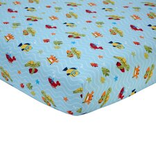 Laguna Fitted Crib Sheet