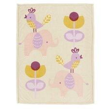 Surina Printed Plush Blanket
