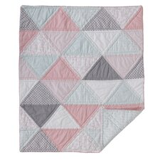 Triangle Cotton Filled Comforter