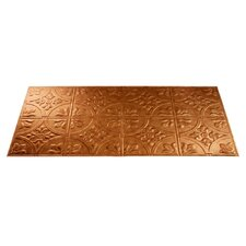Traditional 2 4 ft. x 2 ft. Glue-Up Ceiling Tile in Antique Bronze (Set of 5)