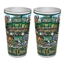 Green Bay Packers Pint Glass (Set of 2)