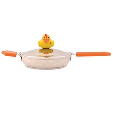 "Sheriff Duck 7"" Skillet with Lid"