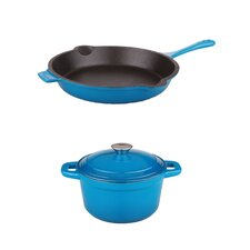 3-Piece Neo Cast Iron Cookware Set
