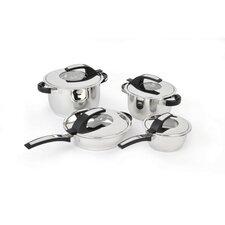 Virgo Stainless Steel 8-Piece Cookware Set