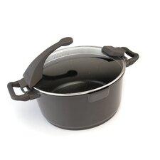 Virgo Aluminum 4.9-qt. Stock Pot with Lid