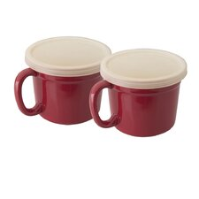 Geminis 4 Piece Covered Cup Set