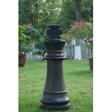King Chess Statue