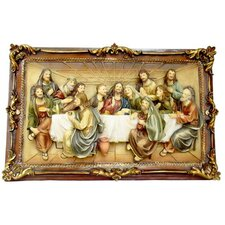 Last Supper Picture Frame Wall Decor