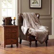 Signature Luxury Faux Fur Throw Blanket
