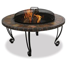 Uniflame Slate Outdoor Fireplace