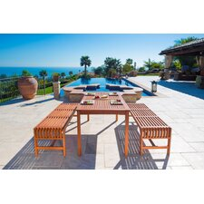 Malibu 3 Piece Dining Set
