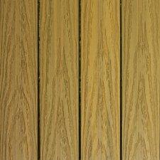 "Naturale Composite 12"" x 12"" Interlocking Deck Tiles in English Oak (Set of 10)"