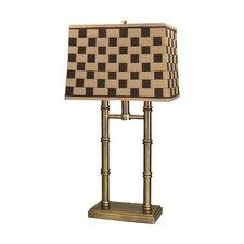"Laredo 25"" H Table Lamp with Rectangular Shade"