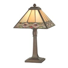"Slayter 13.75"" H Table Lamp with Empire Shade"