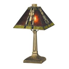 "Charwood Mission Accent 14.25"" H Table Lamp with Empire Shade"