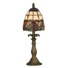 "Enid 14.5"" H Table Lamp with Bowl Shade"
