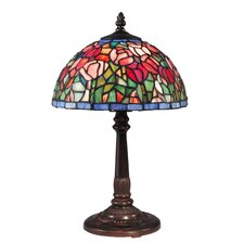 "Tulip 16"" H Table Lamp with Bowl Shade"