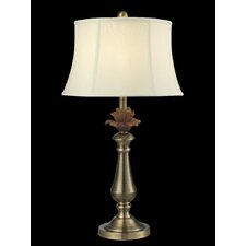 "Flower 26"" H Table Lamp with Bell Shade"