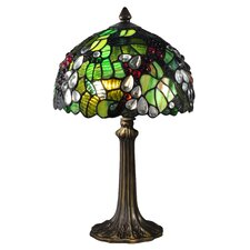 "Tioga 16.3"" H Table Lamp with Bowl Shade"