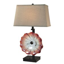 "Titian 28.5"" H Table Lamp with Rectangular Shade"