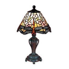 "Dragonfly 13"" H Table Lamp with Empire Shade"