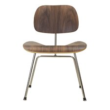 Eames Style Molded Walnut Side Chair