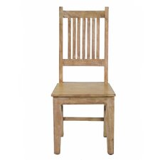 Reclaimed Mango Wood Side Chair