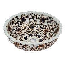 Ceramic Round Vessel Sink