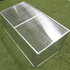 1.5 Ft. W x 3.5 Ft. D Cold Frame Greenhouse