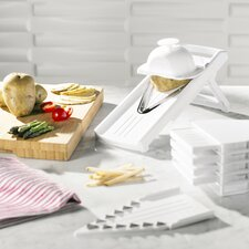 Wayfair Basics 9-Piece V-Shape Mandolin Slicer