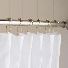 Wayfair Basics Shower Curtain Roller Hook (Set of 12)