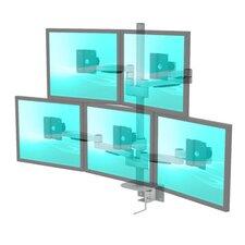 LCD Monitor 5 Screen Desktop Mount