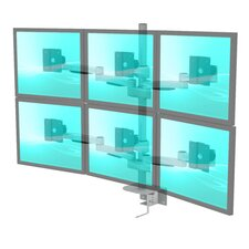 LCD Monitor 6 Screen Desktop Mount