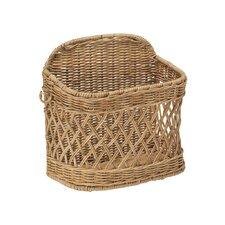 Wicker Wall Mail Basket