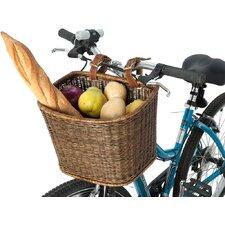 Wicker Handwoven Handlebar Bike Basket