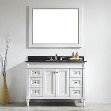 "Catania 48"" Single Vanity Set with Mirror"