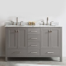 "Gela 60"" Double Vanity Set"