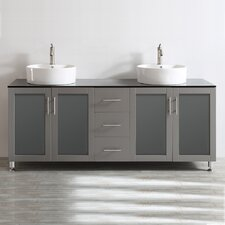 "Tuscany 72"" Double Vanity Set"