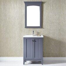 "Asti 24"" Vanity with Mirror Set"
