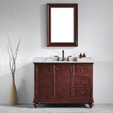 """Venice 48"""" Single Vanity Set with Mirror"""