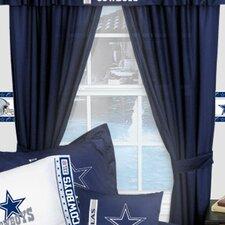 NFL Dallas Cowboys Drape Panels (Set of 2)