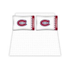 NHL Montreal Canadiens Microfiber Sheet Set