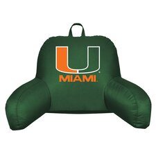NCAA Miami  Bed Rest Pillow