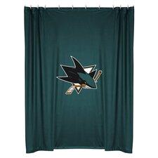 NHL San Jose Sharks Shower Curtain