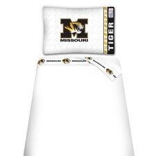 NCAA Missouri Tigers Microfiber Sheet Set
