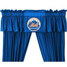 "MLB New York Mets 88"" Curtain Valance"