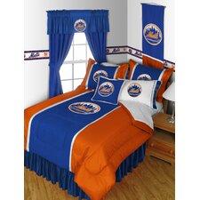 MLB New York Mets Bed Skirt
